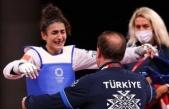 Kübra Olimpiyatlar'da tarih yazdı