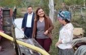 Fatma Kaplan Hürriyet'ten, köylere ziyaret