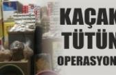 Kaçak tütün ve makaron operasyonu: 5 gözaltı