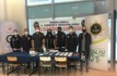 Üniversite öğrencileri polis ekiplerince bilgilendirildi