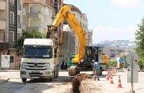 Gebze'deki önemli noktalara içme suyu hattı imalatı