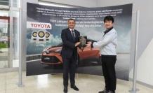Toyota Otomotiv Sanayi Türkiye'ye platin ihracat ödülü