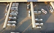 Şehirlerarası Otobüs Terminali'nde bayram öncesi yoğunluk yaşanıyor