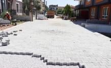 İzmit Alikahya'da yollar parkeye bürünüyor