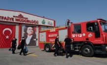 Edirne itfaiyesi Muğla'daki orman yangını söndürme çalışmalarına destek için yola çıktı