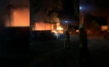 Otelde çıkan yangında işletme sahibi yaşamını yitirdi