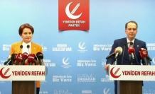 Akşener ve Erbakan'dan siyasi istişare
