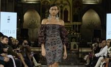 Azeri Türk modacının Paris defilesine büyük ilgi