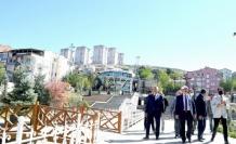 Büyükşehir'den Kernek Meydanı'na inceleme