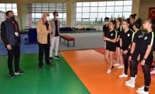 Manisa'da Başkan Güzgülü'nden Cimnastik takımına ziyaret