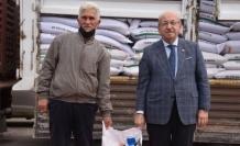 Tekirdağ'ın Malkara ilçesinde üreticiye yem bitkisi tohumu dağıtıldı