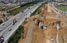 Gebze'de dev projede ilk etap sürüyor