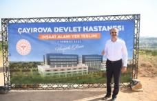 Çayırova Devlet Hastanesi'nin yer teslimi tamam