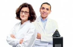 25. Aydın Doğan Ödülü, bilim insanları Türeci ve Şahin'e verildi
