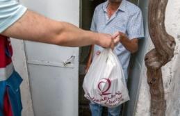 Belediye ihtiyaç sahiplerine kurban eti dağıttı