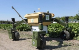 İnsansız tarım robotu geliyor