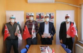 1 Mayıs Emek ve Dayanışma Günü Edirne ve Kırklareli'nde...