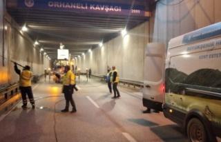 Bursa Büyükşehir Belediyesinin temizlik mesaisi