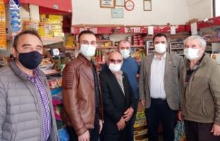 İYİ Parti Mudanya'da esnafa Ramazan'da...