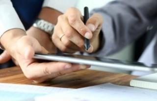 Salgında imzalar dijitalde atılıyor
