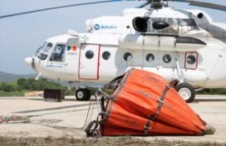 Çanakkale'de orman yangınlarına karşı hazırlıklar...