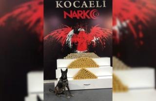 Kocaeli'de kamyonette 139 kilo 350 gram eroin ele...