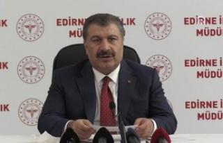 Sağlık Bakanı Koca Edirne'de Bölgesel Değerlendirme...