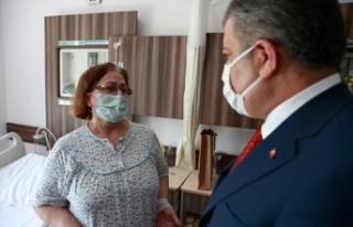 Sağlık Bakanı Koca, Edirne Sultan 1. Murat Devlet...