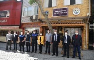 TBMM KEFEK Başkanı Aksal, Keşan'da ziyaretlerde...