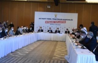 AK Parti Genel Başkan Yardımcısı Özhaseki, Bursa'da...