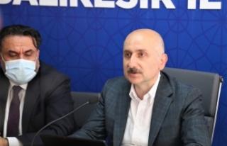 Bakan Karaismailoğlu AK Parti Balıkesir İl Başkanlığını...