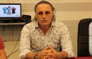 Bandırmaspor, teknik direktör Mustafa Gürsel ile...