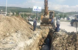 Bursa Gemlik'te yağmur suyu tahliye sorununa neşter