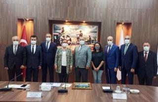 Bursa Gemlik'ten ticari ve akademik Ankara teması
