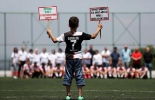Bursa'da anneler uyuşturucuyla mücadele için sahaya...