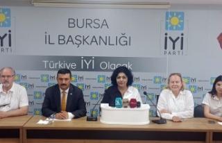 Bursa'da İYİ Parti'den 'Uyuşturucu Platformu'...