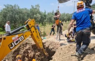 Bursa'da kazı çalışmasında toprak kayması sonucu...