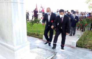 Bursa'da Mudanyalı kahraman Şükrü Çavuş şehadetinin...