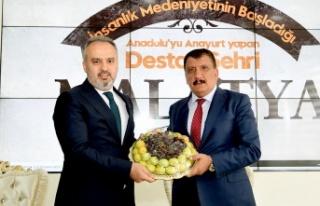 Bursa'dan Malatya'ya nezaket ve tecrübe ziyareti