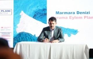 """Çevre ve Şehircilik Bakanı Murat Kurum: """"(Marmara..."""