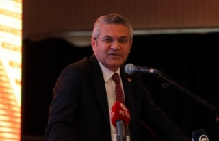 CHP Sözcüsü Öztrak, partisinin Trakya Bölge Toplantısı'nda...