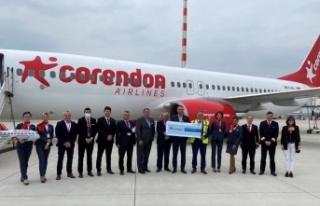 Corendon Airlines artan seyahat talepleri sonrası...