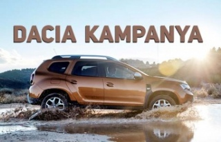 Dacia'dan haziran ayına özel kampanya