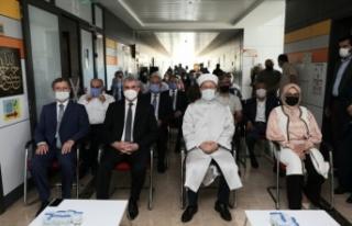 Diyanet İşleri Başkanı Erbaş Sakarya'da hafızlık...