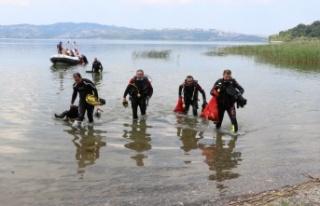 Düzce ve Sakarya'da gönüllüler, Karadeniz sahili...