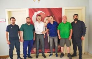 Edirnespor teknik direktör Cahit Erçevik ile yeniden...
