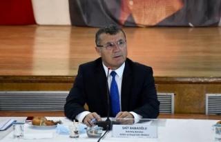 İstanbul'da belediyelerin spor müdürleri bir araya...