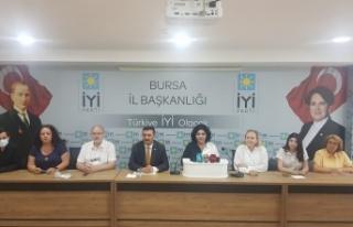 İYİ Parti Bursa'dan Uyuşturucu Platformu önerisi