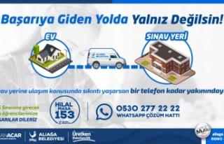İzmir Aliağa'da YKS seferberliği