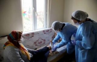 Kartal'da, evde ücretsiz sağlık hizmeti